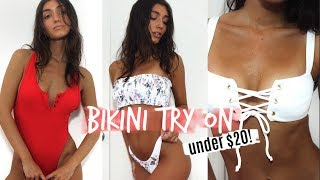 CUTE + CHEAP ONLINE BIKINI TRY ON | SUMMER 2018