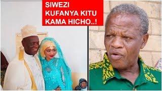 Mzee Makamba azungumzia Kapuya kuoa: Mimi siwezi kufanya kitu kama hicho