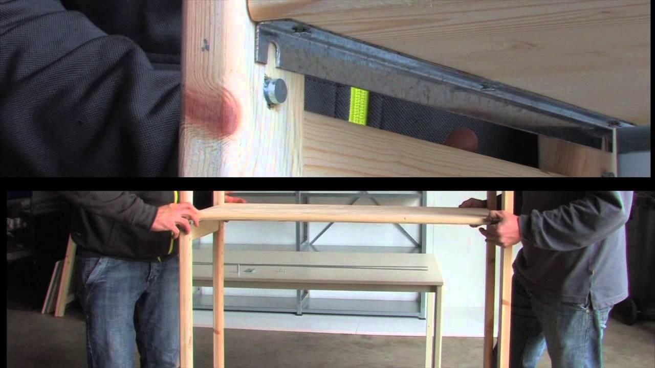 Stellingen Voor Garage.Stellingkast Monteren Instructievideo Houten Stelling Easyrek