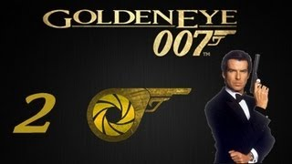 007 Goldeneye 64 Part 2: Green Water and Shit