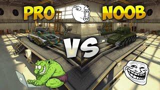 Tanki Online - PRO vs NOOB (troll video) #1