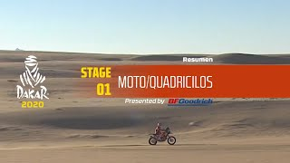Dakar 2020 - Etapa 1 (Jeddah / Al Wajh) - Resumen Moto/Quadriciclos