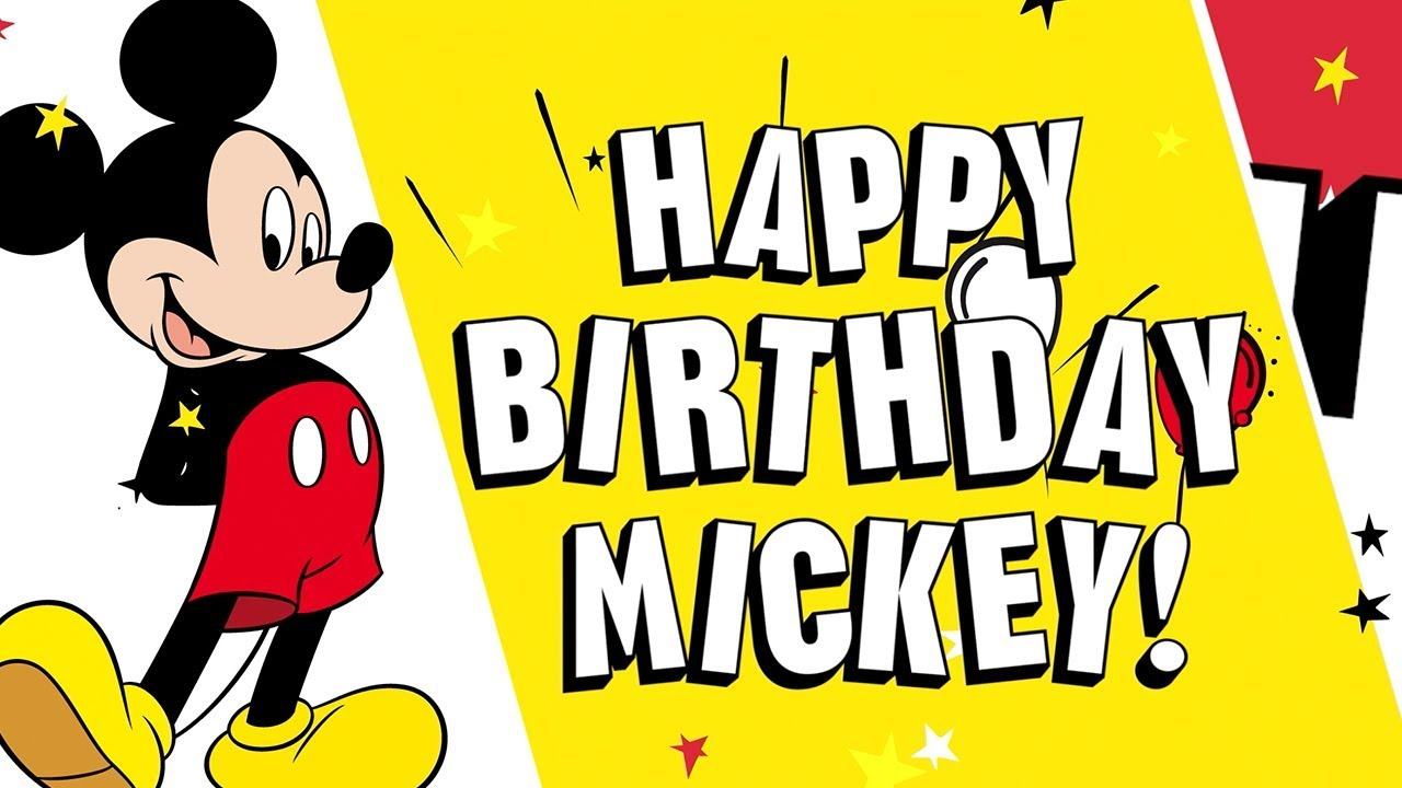 Happy Birthday Mickey Shout Outs Disney Channel Youtube