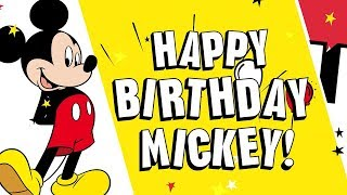 Happy Birthday Mickey! Shout-Outs | Disney Channel
