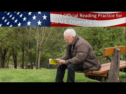 writing and reading test for citizenship