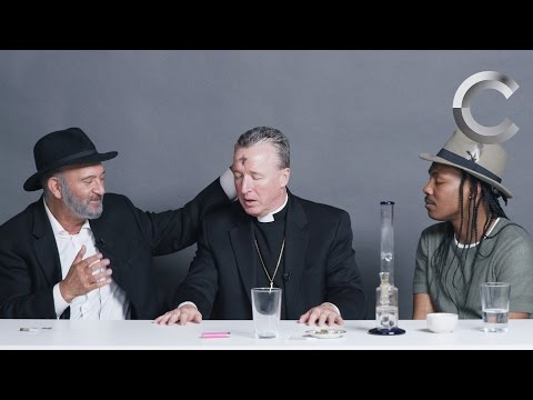 A Rabbi, a Priest and an Atheist Smoke Weed Together | Strange Buds | Cut