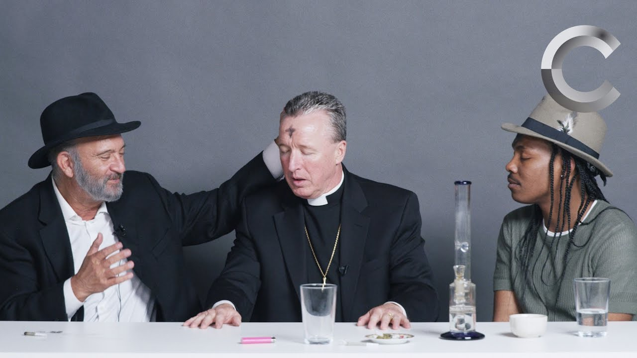 Download A Rabbi, a Priest and an Atheist Smoke Weed Together   Strange Buds   Cut