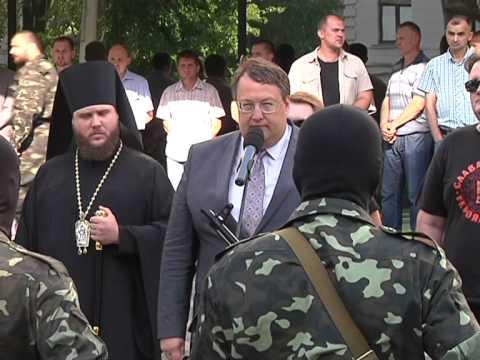 Геращенко: мы изгнали Януковича, мы изгоним орды наемников