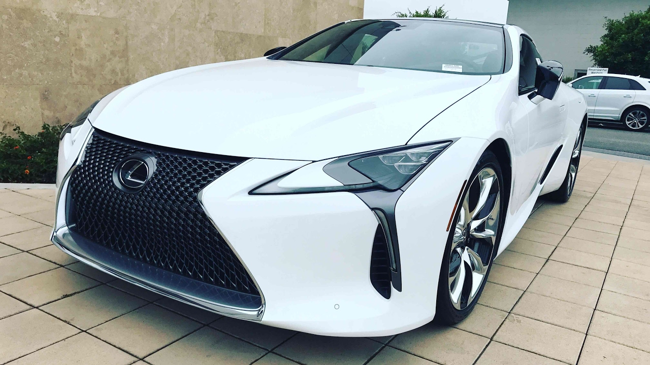 Performance Package 2018 Lc 500 Coupe Msrp 106 267 Ultra White With
