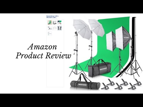 neewer-lighting-kit-studio-from-amazon-review!!