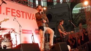 "WANDA ""Wenn ich zwanzig bin"" Wien Festival Michaelerlatz 1. Juni 2015"