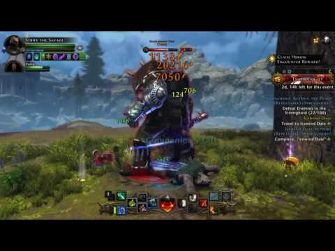 Neverwinter ps4 level 70 trickster rogue gameplay