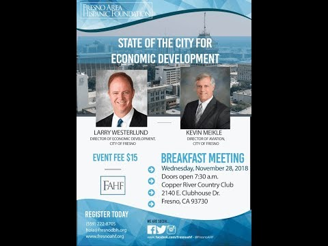 State of the City for Economic Development 11-28-2018