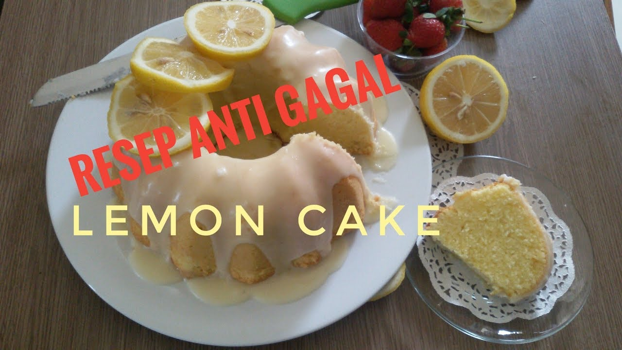 RESEP LEMON CAKE ANTI GAGAL TINTIN RAYNER REVIEW & RECOOK