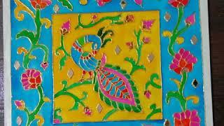 Meenakri art work, meenakari p…