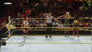 AJ Lee vs Naomi ( WWE NXT)