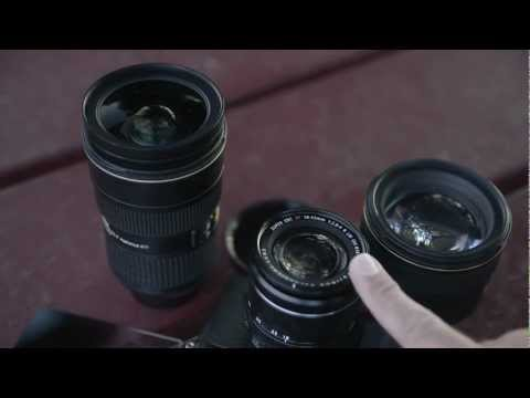 How to clean a camera lens