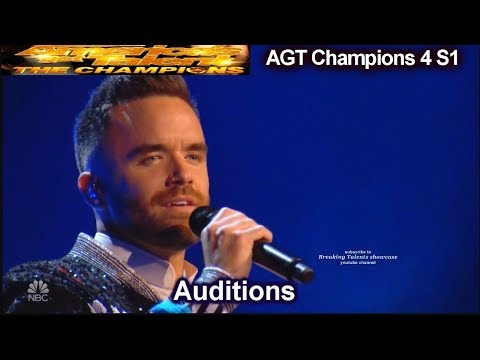 """Brian Justin Crum sings """"Your Song"""" HE SMASHED IT Audition 