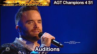 "Brian Justin Crum sings ""Your Song"" HE SMASHED IT Audition 