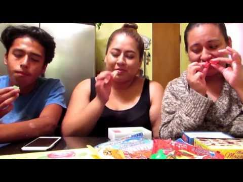 Mexican trying mexican candy