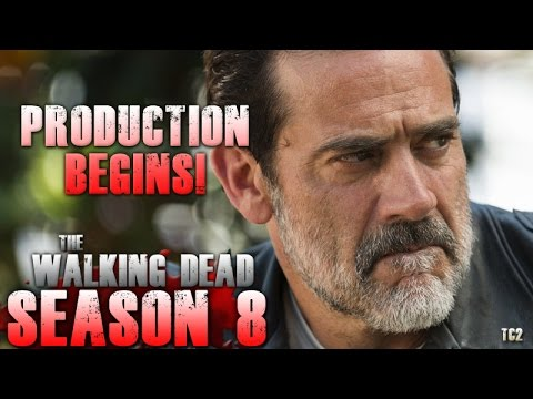 The Walking Dead Season 8 Begins Shooting April 25!