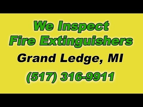 Grand Ledge Michigan Fire Extinguisher Service