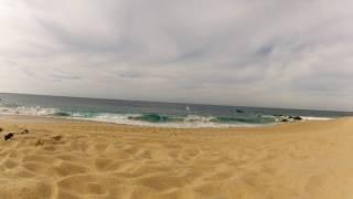 предпоследний день в Мексике, не ныряем из за огромных волн