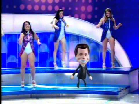 DANÇARINAS DO PROGRAMA SILVIO SANTOS 13/11/2011 - YouTube