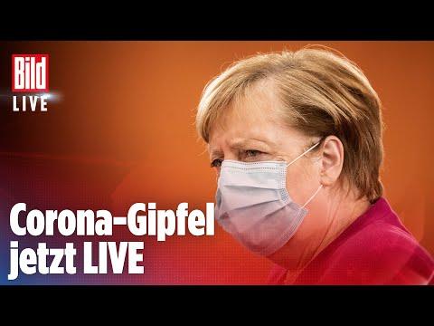 🔴 MERKEL WILL LOCKDOWN-Ultimatum: Corona-Gipfel zu neuen Maßnahmen | BILD LIVE
