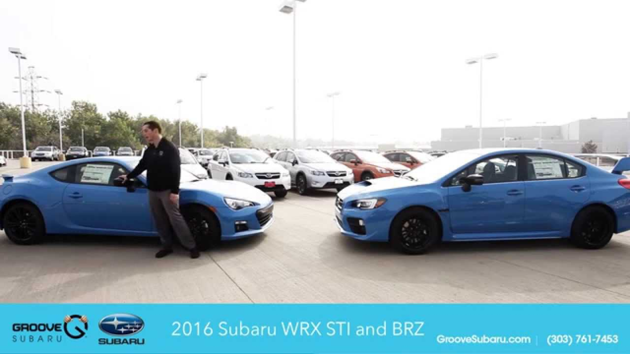 2016 special edition series hyperblue brz and sti launch video subaru for sale denver youtube. Black Bedroom Furniture Sets. Home Design Ideas