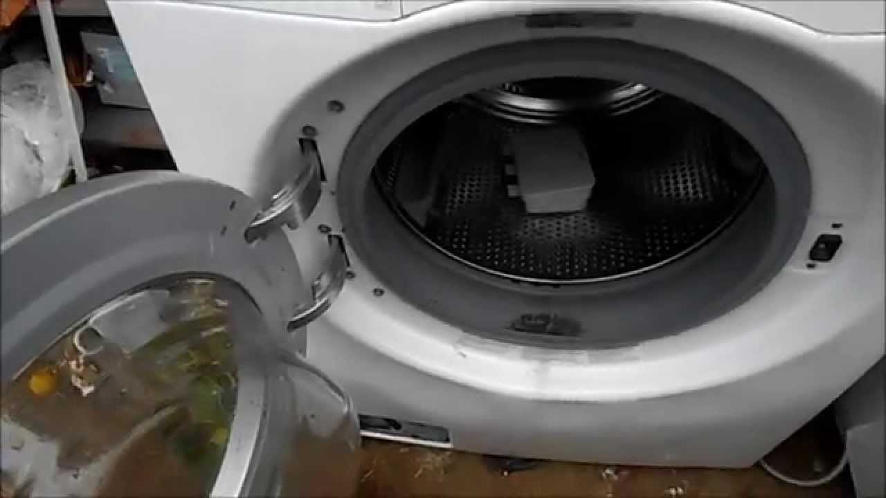LG washer Burning Smell? Could be a bearing fail - YouTube