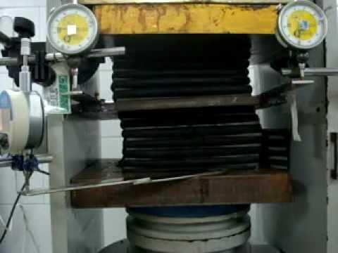 Anulab Bridge Bearing Testing Elastic Modulus Of