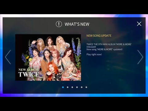 SuperStar JYPNATION | TWICE - MORE & MORE Come Back Event