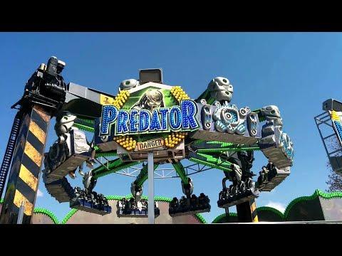 🎡Blasheimer Markt Predator Мама в Ужасе Гигантское колесо обозрения Лунопарк Германия