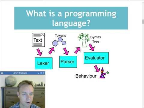 (1) Writing a programming language - the Lexer