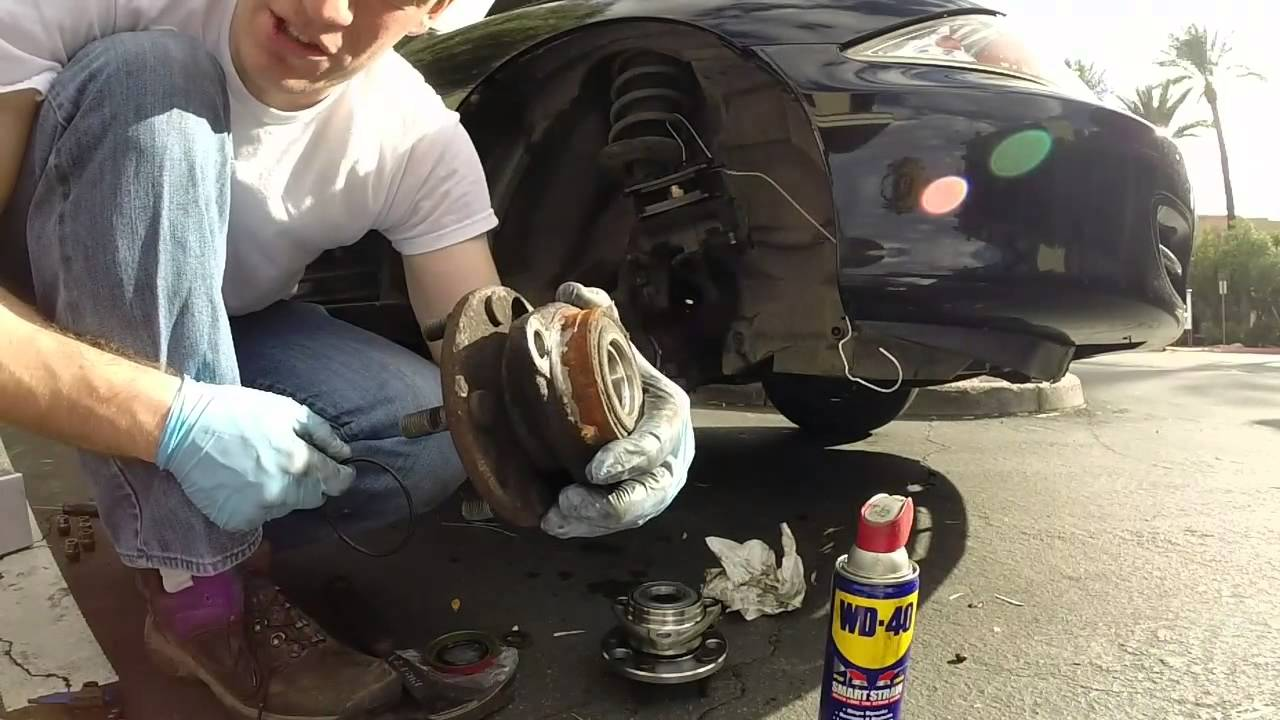 Front Wheel Bearing Replacement >> How to replace a front Hub / Bearing assembly 2000 Chevy cavalier / Pontiac sunfire - YouTube