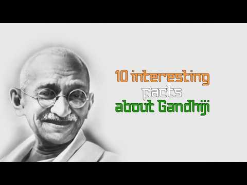 10 - Unknown & Interesting facts about Mahatma Gandhi | INDEPENDENCE DAY SPECIAL