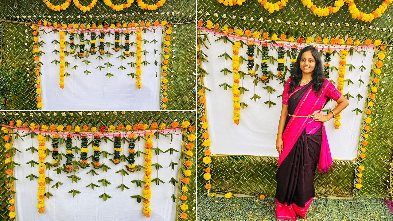South Indian Backdrop Make Seemantham Function Decoration For Baby Showers Gatherings Part 1 Youtube,Backyard Landscaping Ideas Small Backyard Turf Ideas