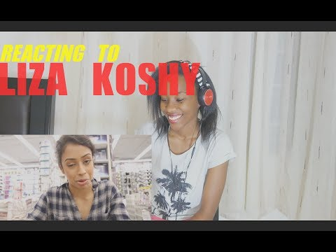 "Thumbnail: Reacting to : Liza Koshy ""I WAS CAUGHT IN BED... BATH AND BEYOND WITH LIZA!"""