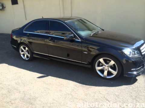 2012 Mercedes Benz C Class C200 Cdi Blueefficiency