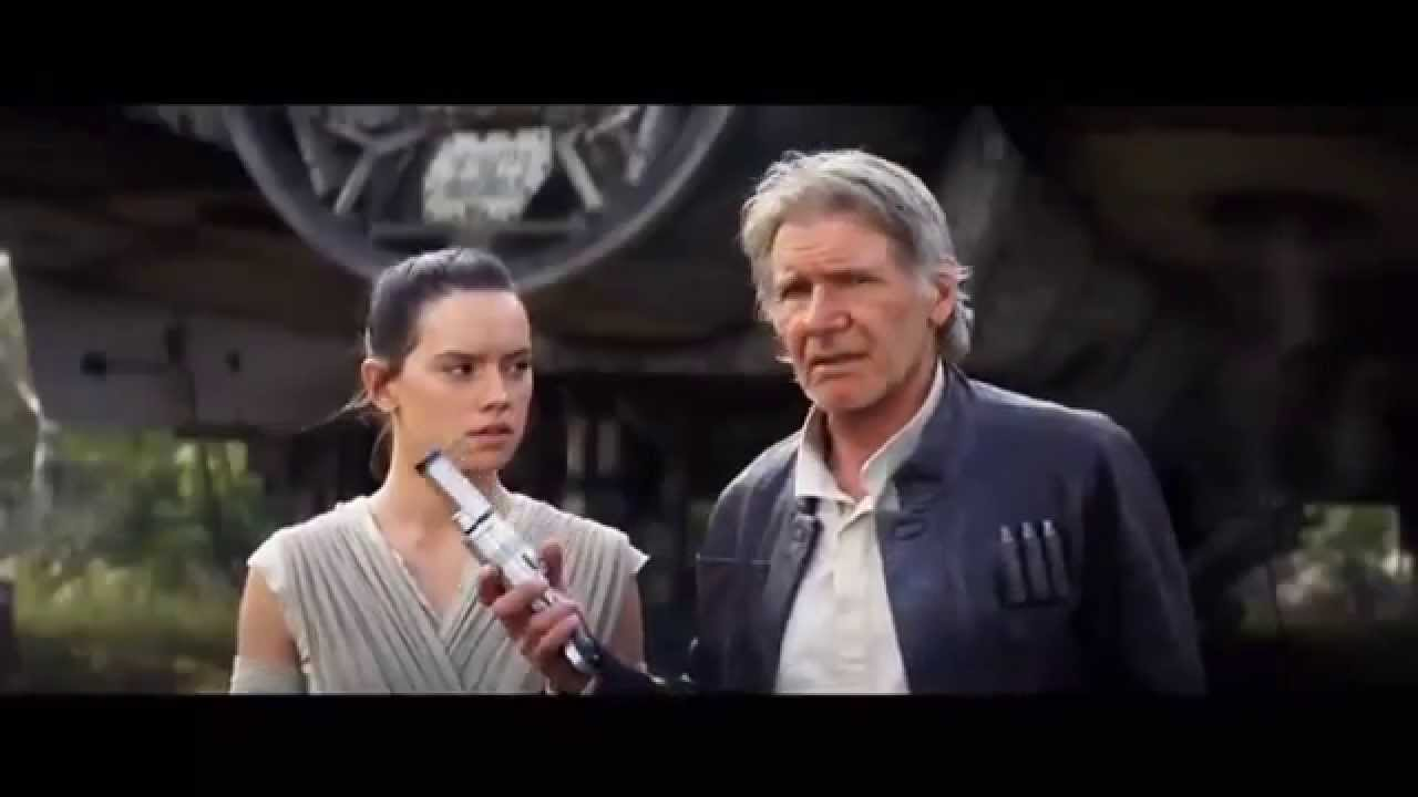 Star Wars Episode 7 The Force Awakens MARK HAMILL CARRIE ...