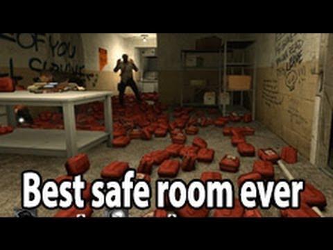 Left 4 dead 2 best safe room ever youtube for Best safe rooms