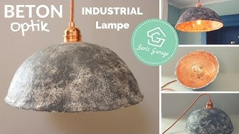 Lampenschirm selber machen   Lampe selber bauen   Lampenschirm basteln   Selber bauen DIY Anleitung