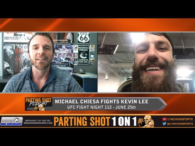 UFC Fight Night 112's Michael Chiesa talks Kevin Lee, Layoff & Seattle Seahawks football