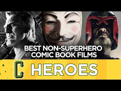 The Best Non-Superhero Comic Book Films