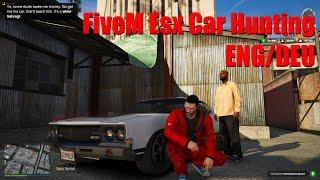 FiveM Esx Car Hunting ENG/DEU