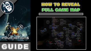 X4 Foundations Map Guide: Reveal Full Map & Explorer Achievement (X4 Foundations Guide)