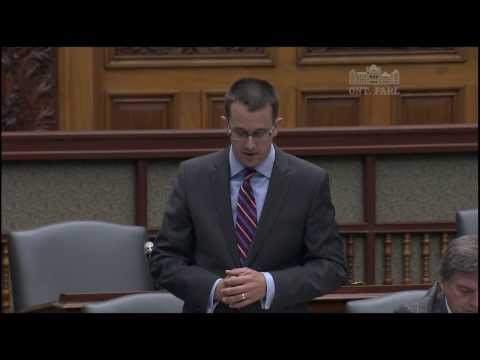 MPP McNaughton Questions Premier on Canada-wide Free Trade Zone, July 10, 2014