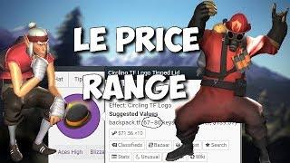 [TF2][FR] LE PRICE RANGE !