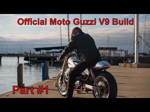 Moto Guzzi Custom V9 Build by Rodsmith Motorcycles Part #1